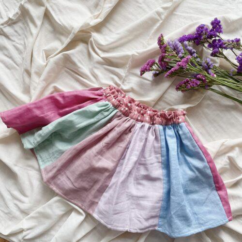 HUGsent お揃い 子ども服 オーダーメイド スカートパンツ